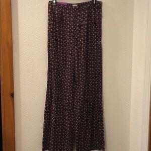 Merona wide leg rayon pants new with tag